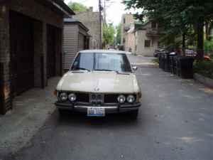 1972 BMW Bavaria front