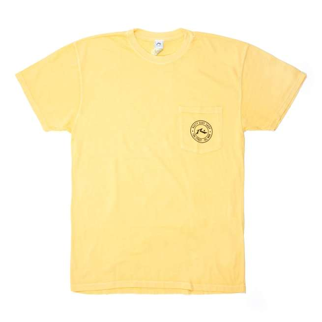 Rusty Del Mar Oval Stamp Short Sleeve T-Shirt