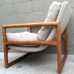 Deep Sofa Couch Carlton 3 Seater Recliner Milo Baughman | Rusty Gold Design
