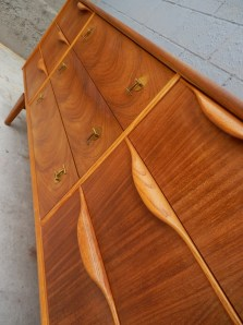 Mid Century Dresser By Stanley Furniture Rusty Gold Design