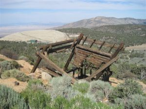 The last frames of a mine at Doble near Big BEar
