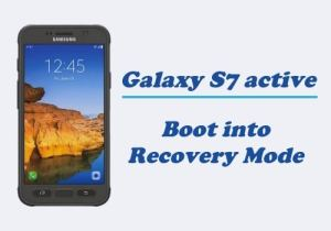 Recovery Mode on Galaxy S7 Active
