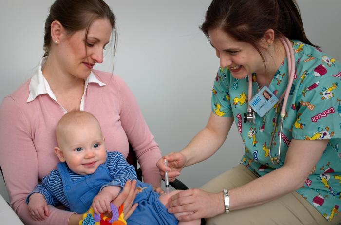 Vaccination: Photographer James Gathany--CDC Judy Schmidt