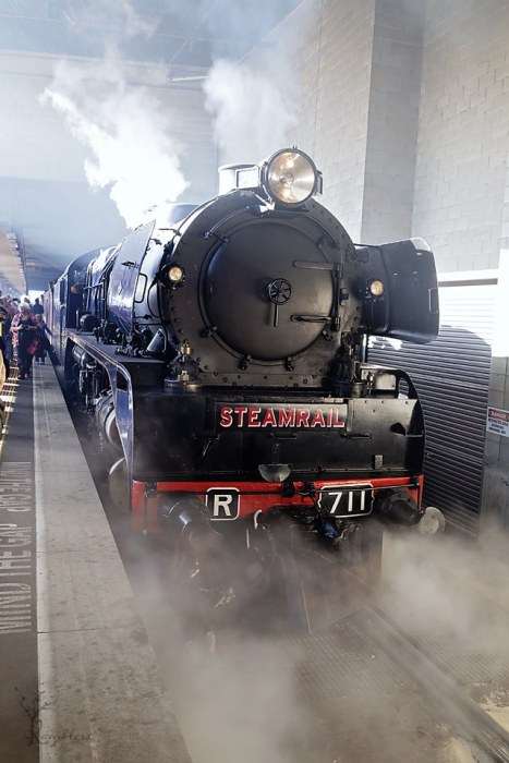 R711 Steam Locomotive