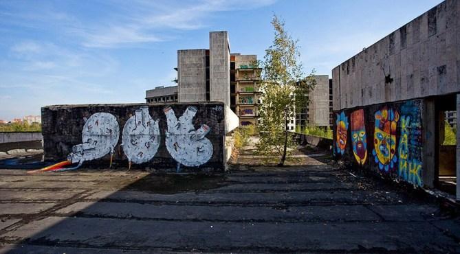 Недостроенный госпиталь внутренней службы безопасности военная часть, военный объект, заброшенное здание, заброшенные здания