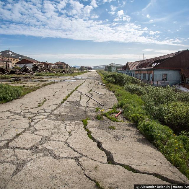 This Soviet ghost town is only 200 km from the USA
