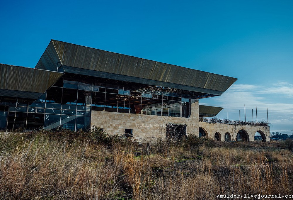 Abandoned Airport in Sukhumi