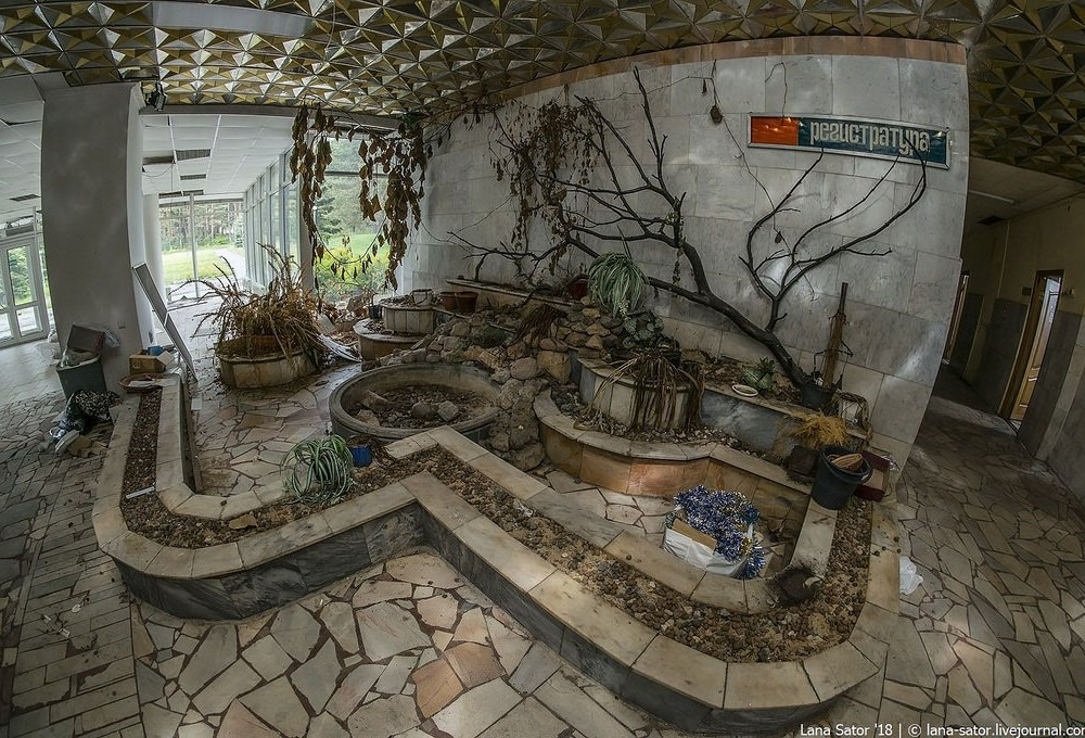 Abandoned Soviet Sanatorium