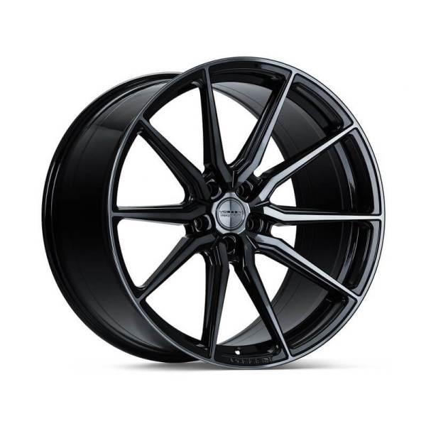 оригинальные диски vossen hf-3 в цвете double tinted gloss black