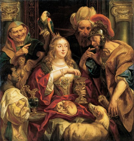 1653 jacob-jordaens cleopatre