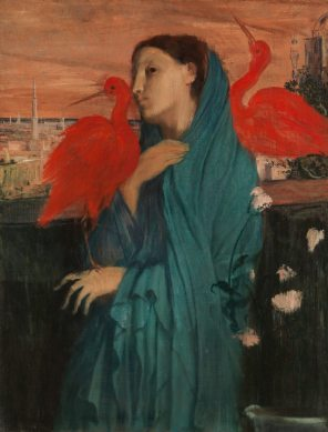 edgar-degas-jeune-femme-ibis