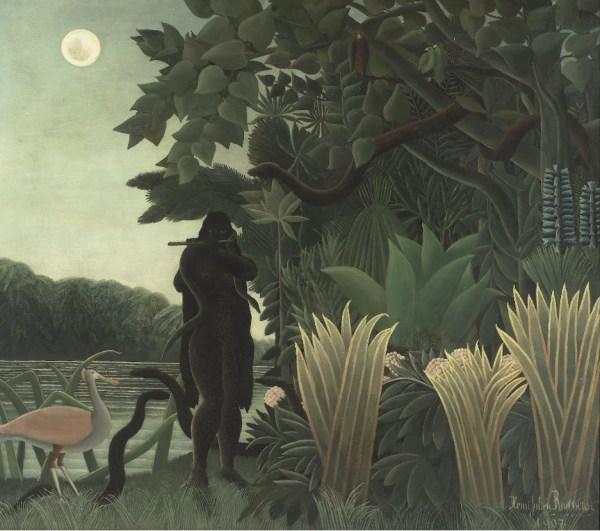 La charmeuse de serpents - 1907