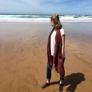 Exploring the Moroccan Atlantic Beach