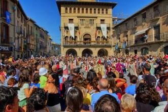 Mercado medieval en Olite