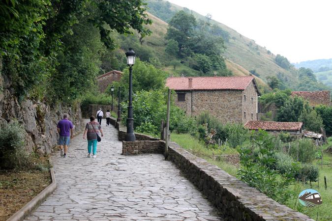 Camino a Bárcena Mayor