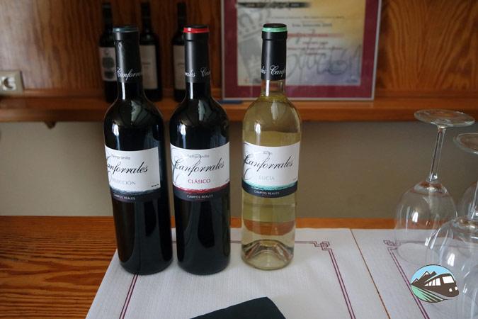 Vinos Bodegas Camporeales