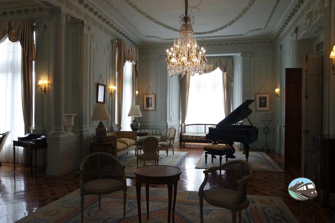 Interio del Palacio Magdalena