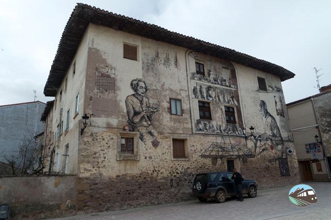 Mural de la zapatería