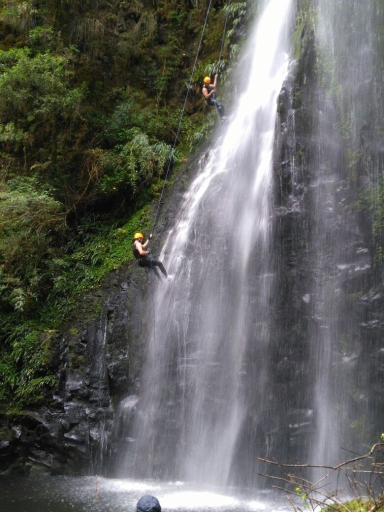 Canyoning en Lago Ranco