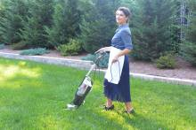 Item 139. IMAGE. Do your best 1950's June Cleaver impression and vacuum the lawn. – Shawna O'Neal