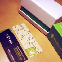 Nuevas tarjetas MOO .. y algo +
