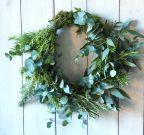 Rosemary and eucalyptus wreath