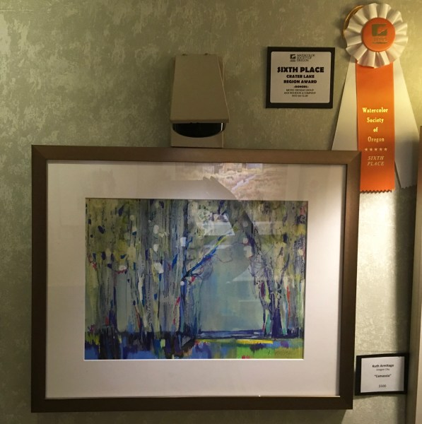 "My Award Winning Painting - ""Camassia"""