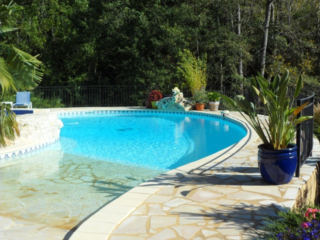 Pool & Spa at Haut Baran