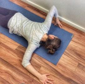 Chest/Shoulder Stretch starting position
