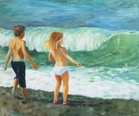 Strandspiel Normandie II