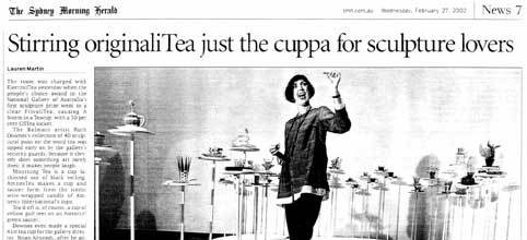 Stirring originaliTea just the cuppa for sculpture lovers – Sydney Morning Herald