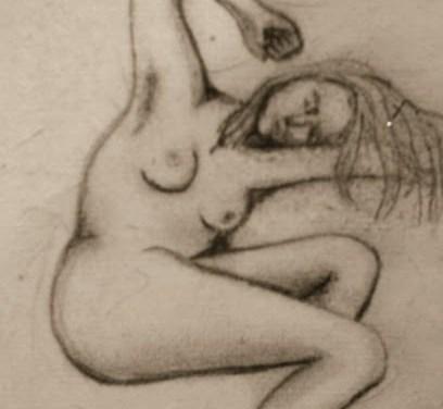 Nude blyant #1