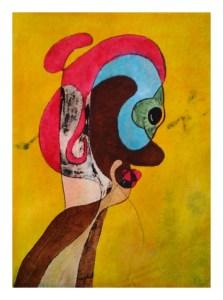 Et øyeblikk – A Twinkle of an Eye – Watercolour giclee print by RT Brokstad