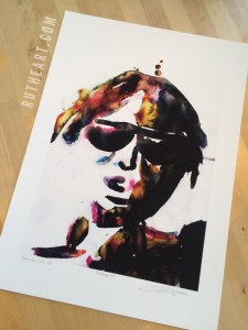 Mindscape #4 – by R.T.Brokstad – Watercolour DGA