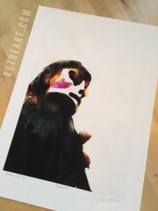 Mindscape #2 – by R.T.Brokstad – Watercolour DGA