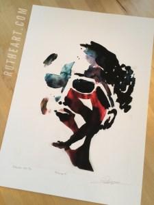 Mindscape #1 – by R.T.Brokstad – Watercolour DGA