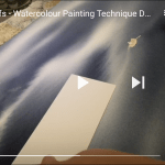 DEMO: Easy Watercolour Painting Technique for Painting Islets and Reefs