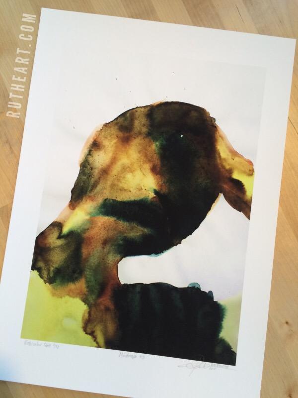 Mindscape #9-Techniques > Digital Graphic Artwork, Size > Medium (21-50 cm, eg. A4 and A3), Styles > Mindscapes-Rutheart