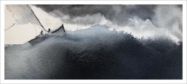 The Battle-Techniques > Giclée Prints, Styles > Rough Seascape Series, Styles > Seascapes-Rutheart