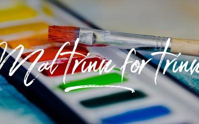 Trinn-for-trinn maleoppskrifter / Step-by-Step Watercolour Tutorials