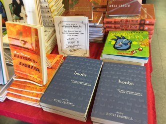 Authors for Indies 2016 at Book Warehouse Broadway