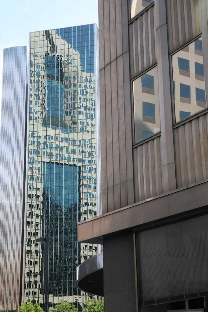 Downtown Building Reflections