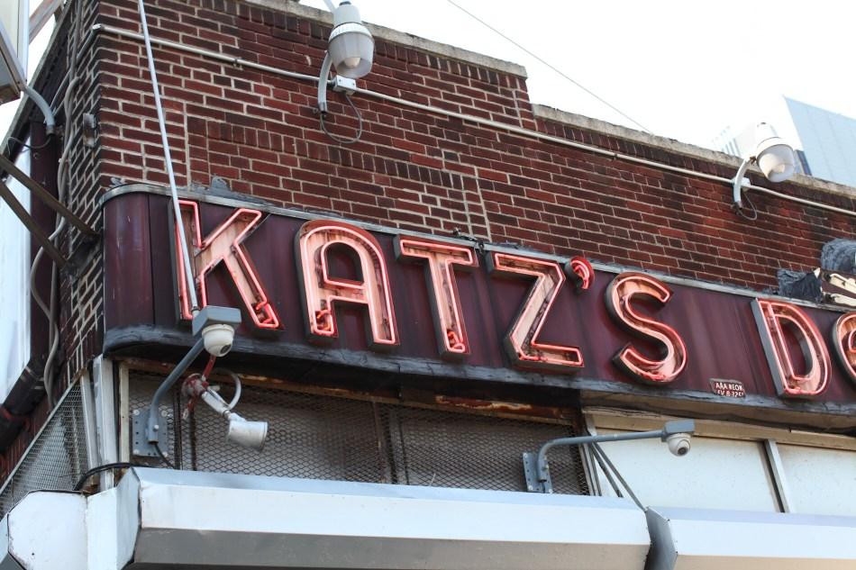 Katz's Deli sign