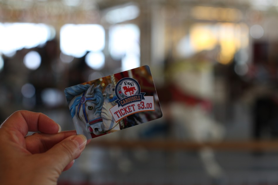 Carousel Ticket