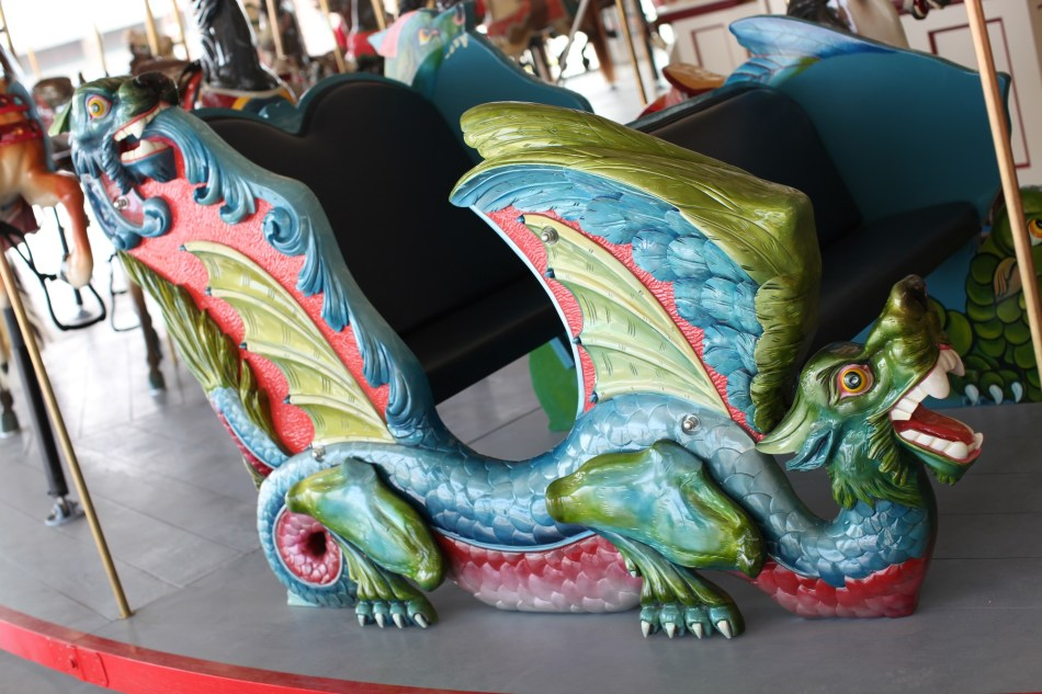 After Restoration Carousel Bench