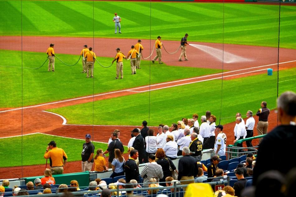 Infield Baseball