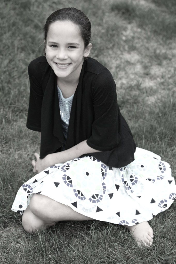 Anna almost ten