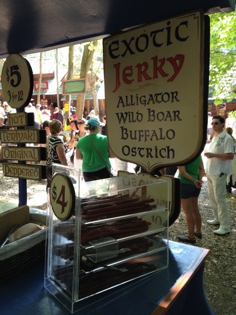 alligator jerky