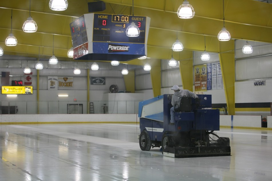 Zamboni on Ice