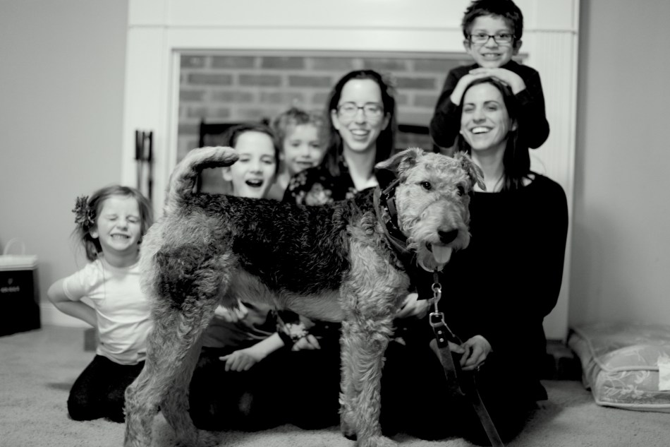Henry and his family
